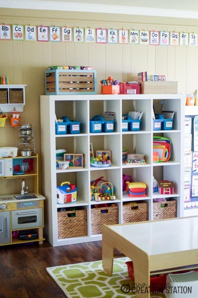 Playroom And Homeschool Classroom Tour