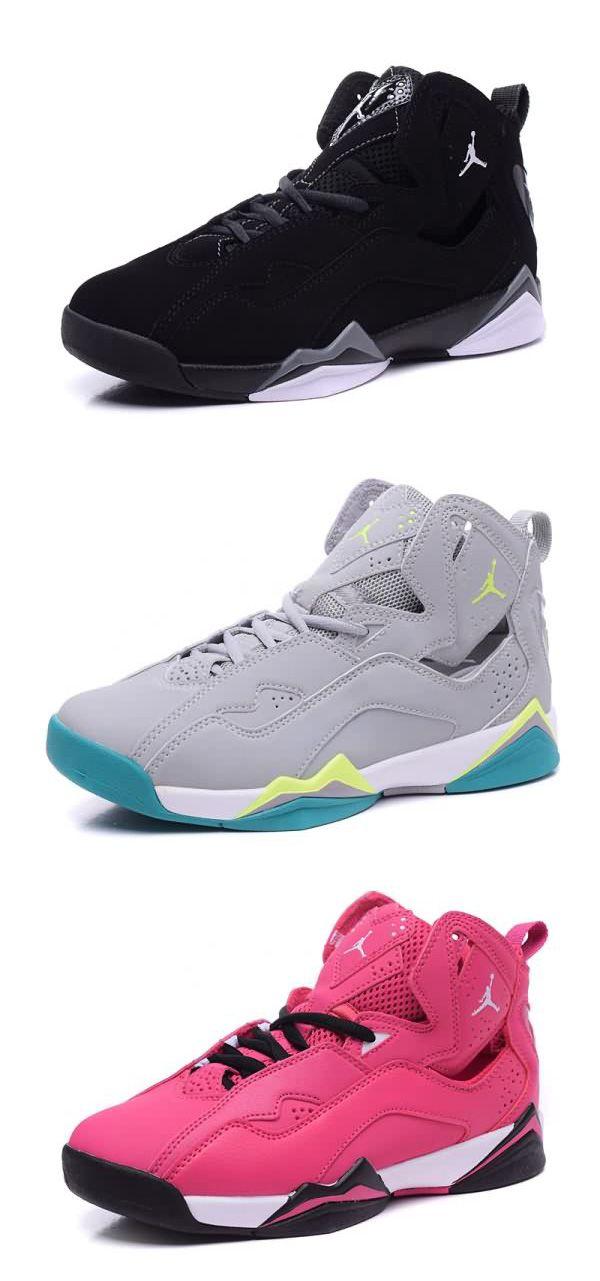buy online afe6c 13c4a Buy To Air Jordan AJ7 True Flight GG Women shoes Pink Black ...