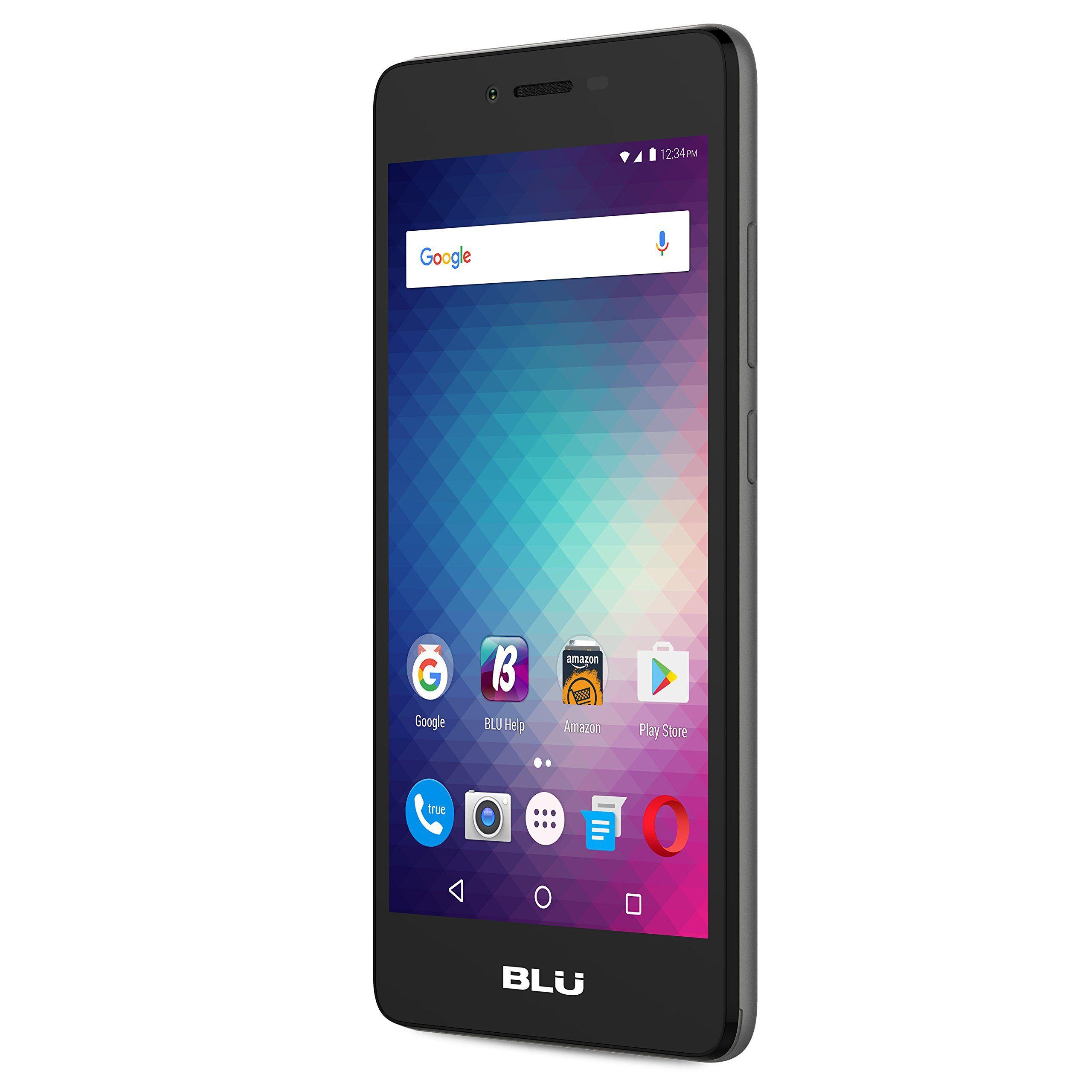 BLU Studio G HD LTE 5.0 HD GSM Unlocked Smartphone Grey