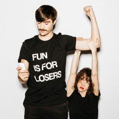 Tee-Shirt FUN IS FOR LOSERS #keepitironic #faubourg54 #paris