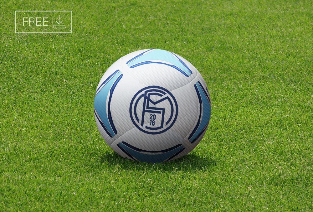 Download Free Football Soccer Ball Mockup Psd On Behance Soccer Ball Soccer Free Football