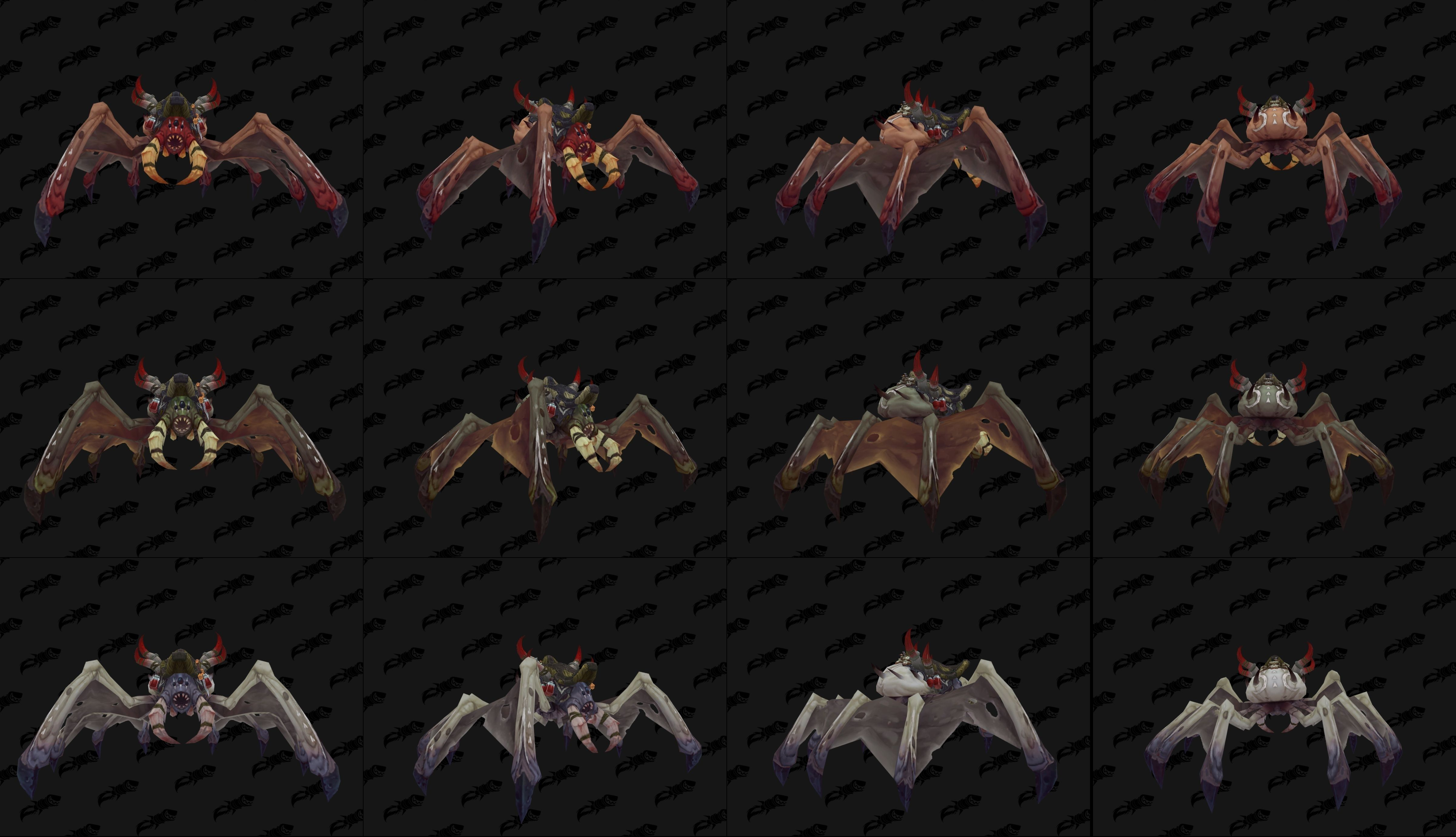 I'm sorry for people with Arachnophobia in BFA