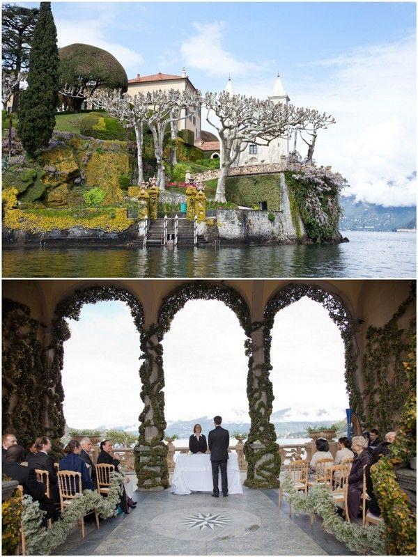 Villa del Balbianello Lake Como Wedding Lake como