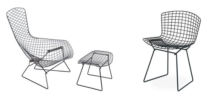 harry bertoia s diamond chair a chair known for its innovative use rh pinterest com