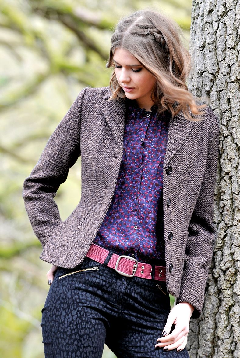 HARRIS TWEED JACKET - Women's Coats & Jackets | Brora | My Fashion ...