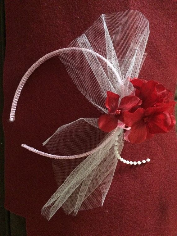 Pink Head  Band by HelgasHairBowDesigns on Etsy