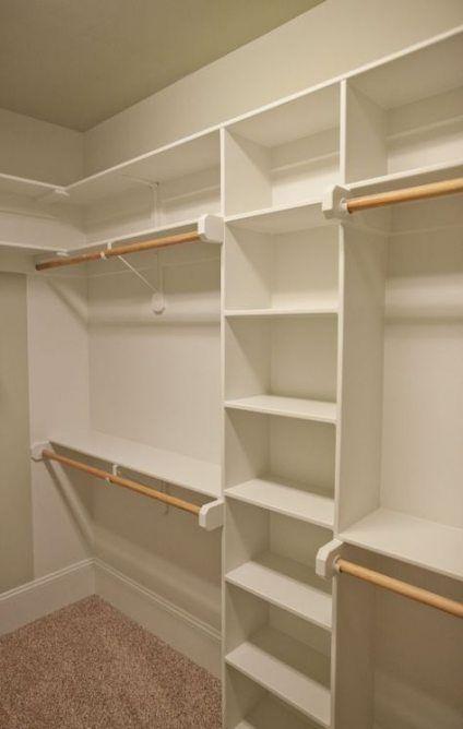 45 trendy master bedroom closet organization diy shelving