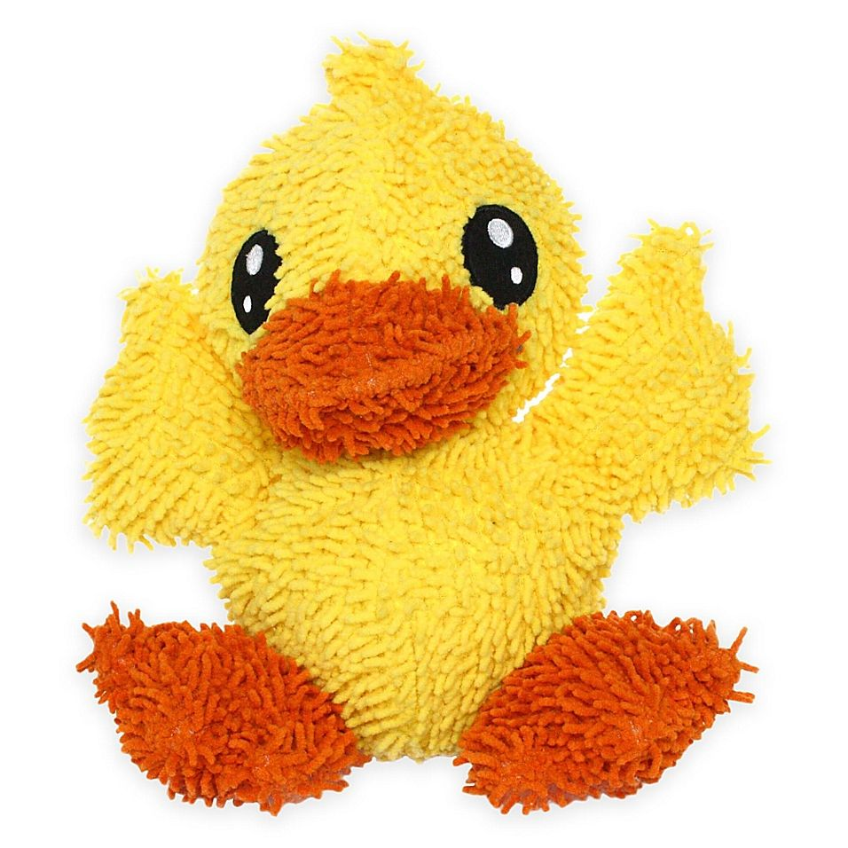Mighty Pet Toys Large Duck Squeaker Dog Toy Yellow Pet Toys Dog