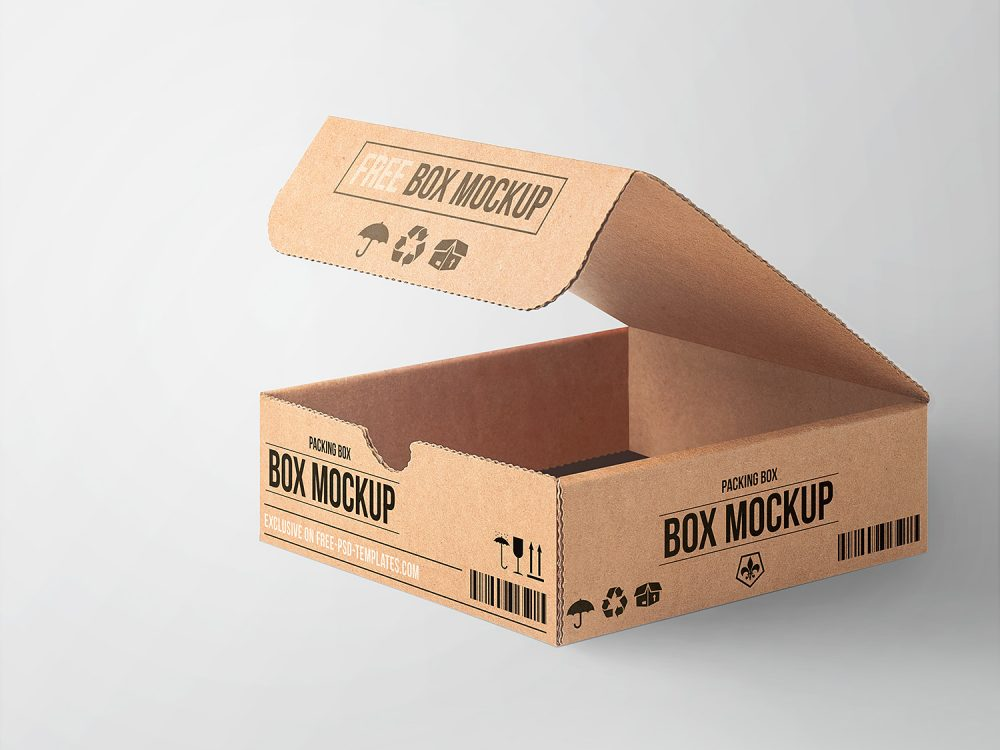 Download T8 Tube Light Package Google Ɛœå°‹ Corrugated Box Design Box Mockup Food Box Packaging