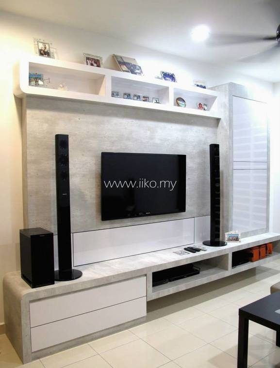Tv Unit Designs In The Living Room: 50 TV Cabinet Designs For Your Living Room