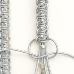 geflochtenes armband mit perlen schmuck pinterest armband schmuck und diy schmuck. Black Bedroom Furniture Sets. Home Design Ideas