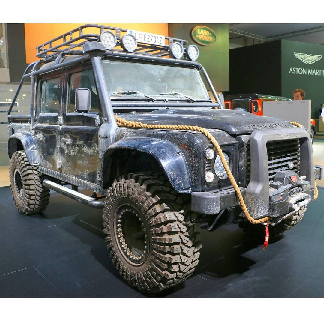 \u201cLand Rover Defender Used On James Bond Spectre #spectre #jamesbond # Landrover