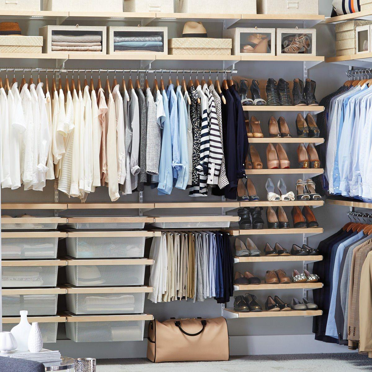 Modular and custom closet solutions designed for you.  Custom