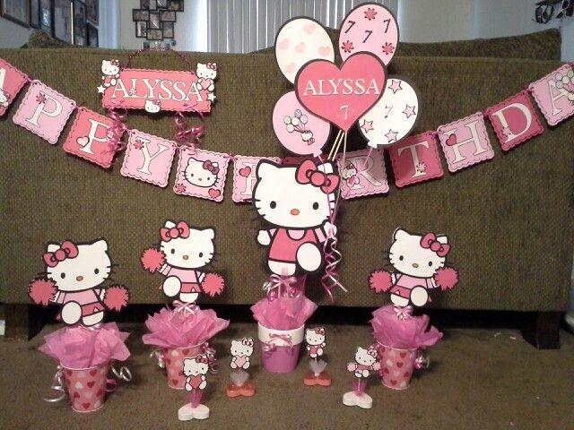 Hello Kitty Decoration Stuff That I Do Pinterest Balloon Decorations Hello Kitty And