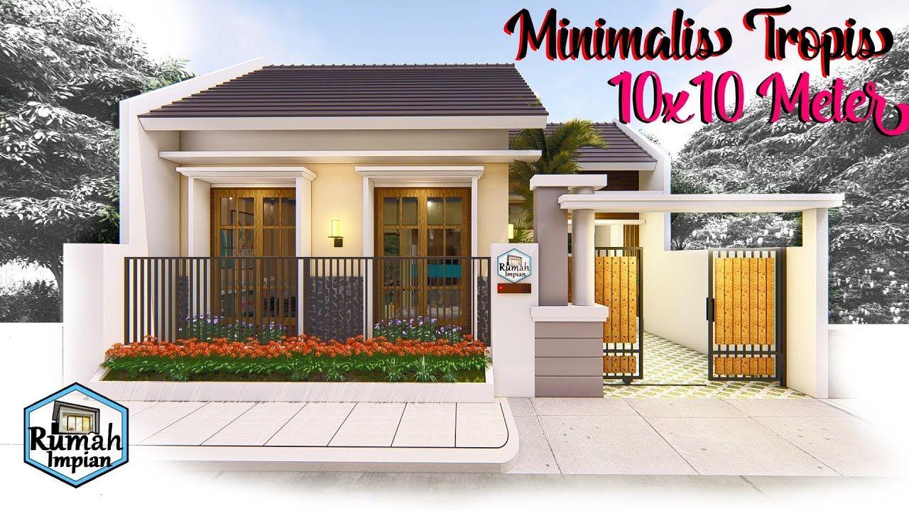 Desain Rumah Minimalis Modern Atap Dak Beton Cek Bahan Bangunan