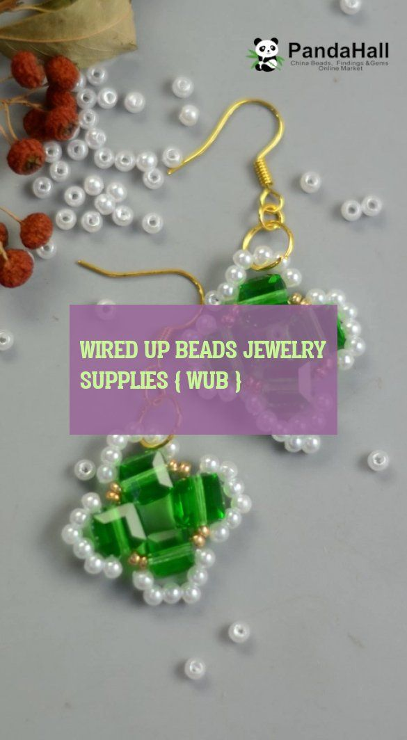 wired up beads jewelry supplies wub