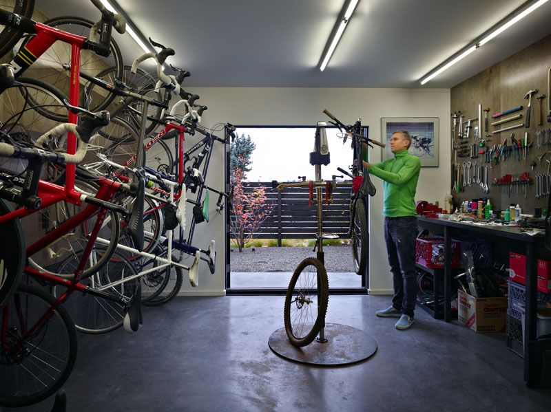 The Cycle House By Chadbourne Doss Architects In 2020 House Design Bike Room Bike Shed