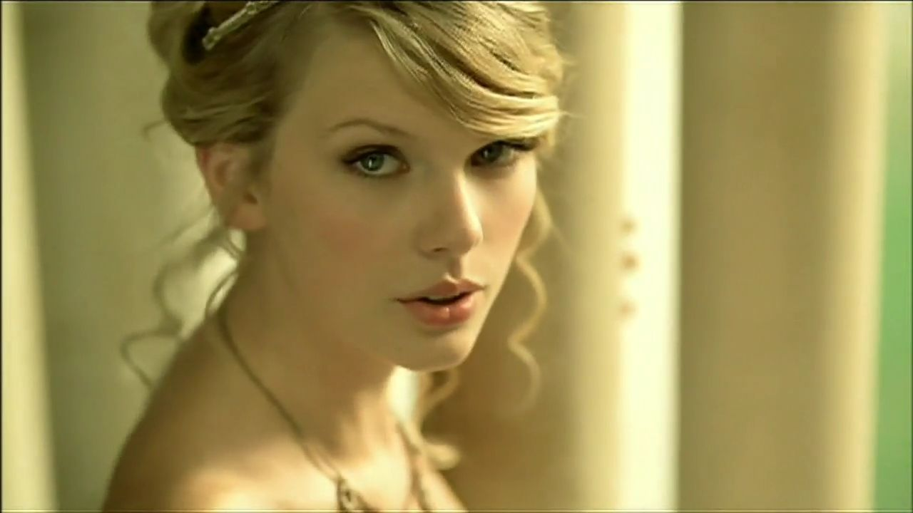 taylor swift love story - we were both young when i first ...