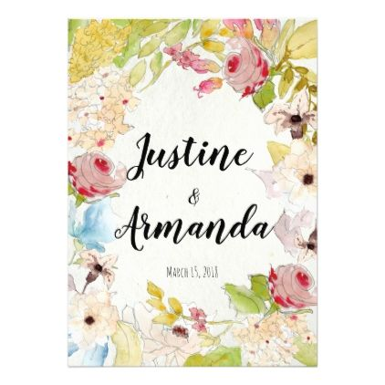 Beautiful floral wedding invitation card beautiful floral wedding invitation card wedding invitations cards custom invitation card design marriage party stopboris Choice Image