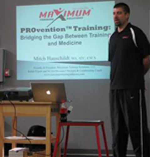 For information on Sports Injury, Injury Prevention