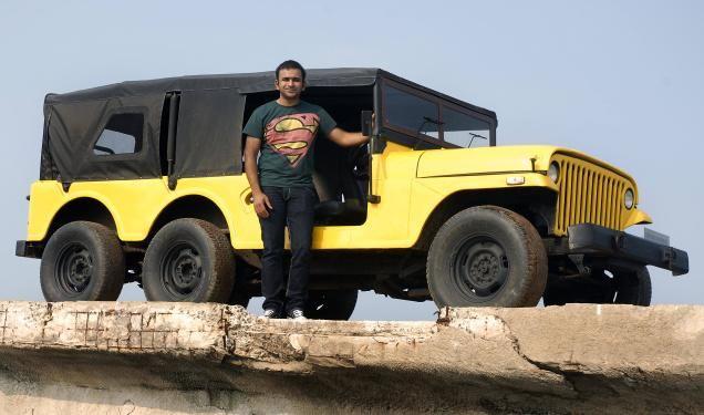 Custom 6 Wheeled Jeep In India Classic Jeeps Jeep Yellow Jeep