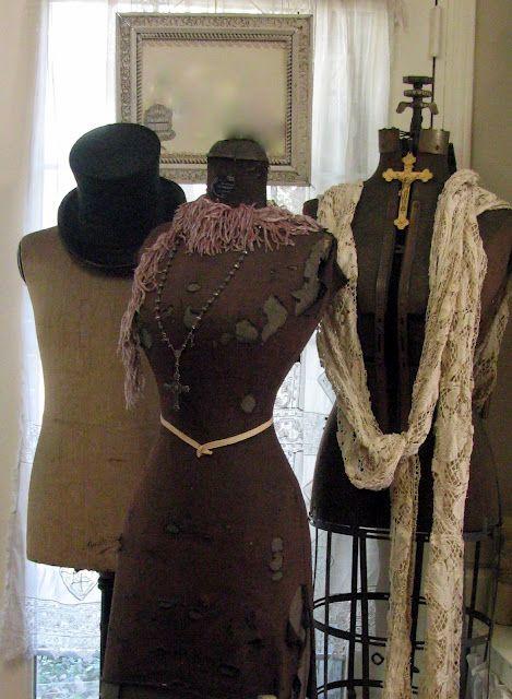 Rebecca Ersfeld Vintage Dress Form Antique Dress Form Dress Form Mannequin