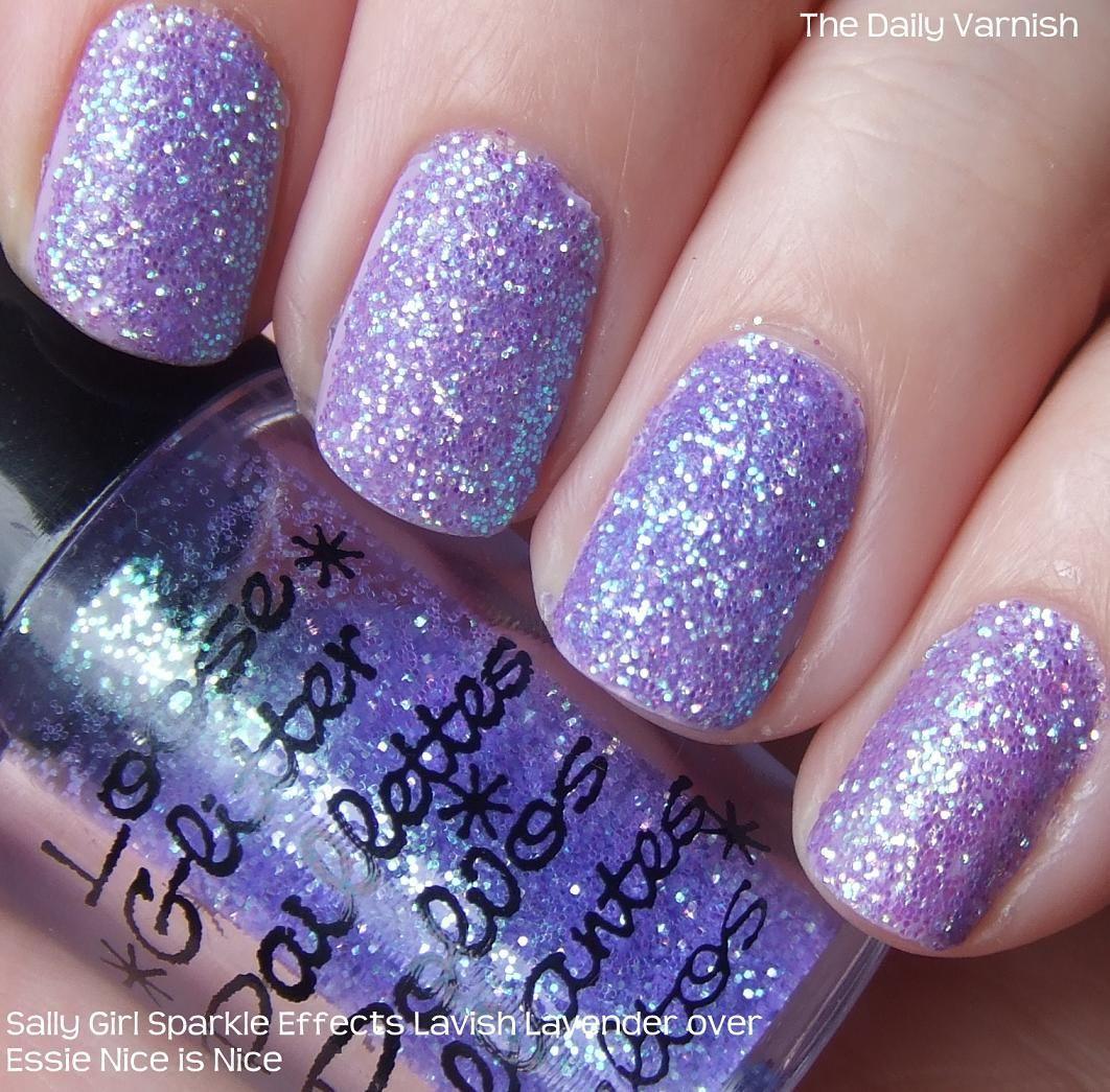 purple glitter gel nail polish - best nail 2017 | nails