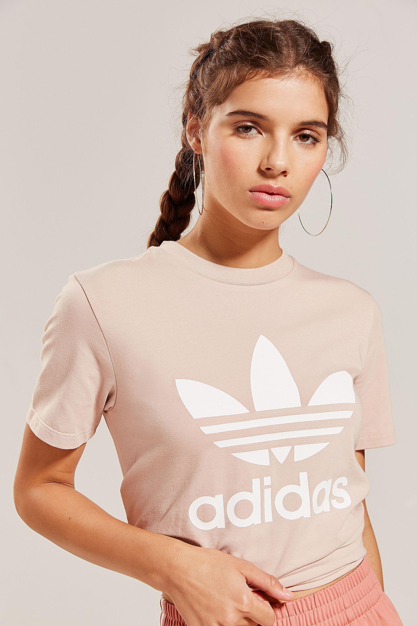 adidas Originals Adicolor Trefoil Crew Neck Tee | 0 Best Of