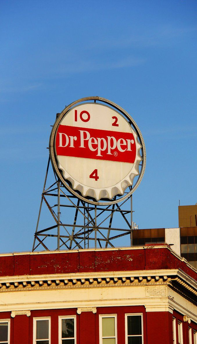 Dr Pepper Capital Of The World By Prestonthecarartist Dr Pepper Stuffed Peppers Art Collage Wall