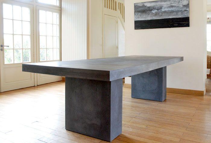 beton tisch für den garten | gartenideen | pinterest | concrete