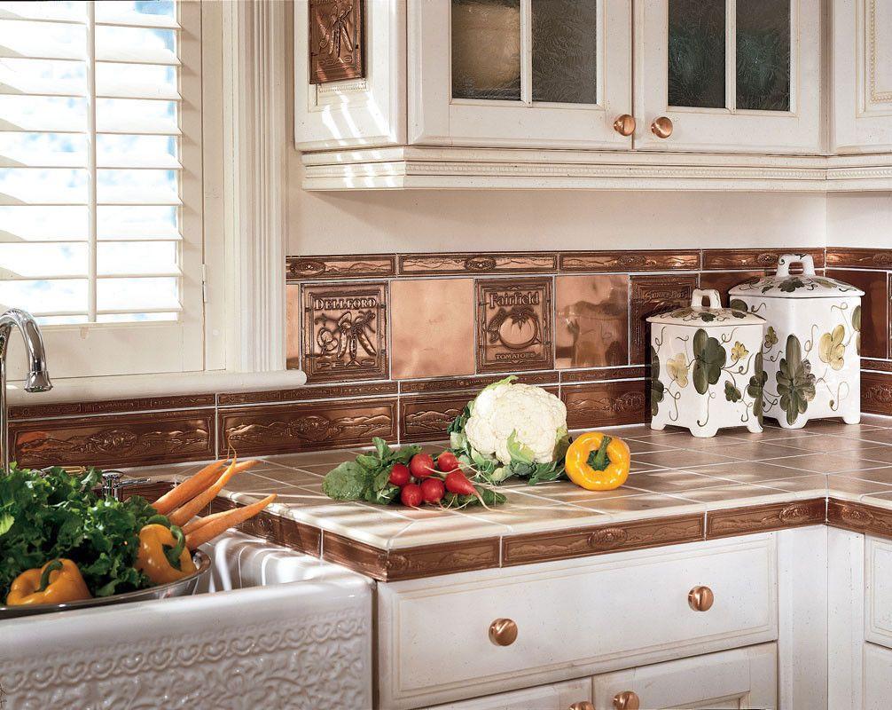 35 Fresh White Kitchen Cabinets Ideas To Brighten Your: Kitchen & Dining. Metal Frenzy In Kitchen, Copper