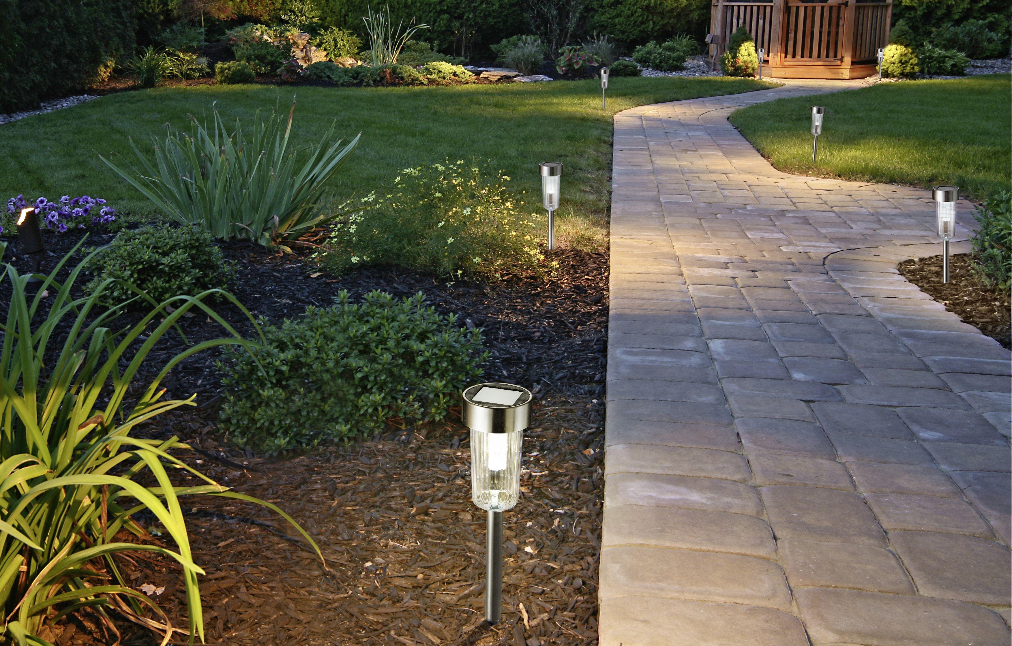 Lampe solaire à led pour bordure de jardin - Collection 2016 ...