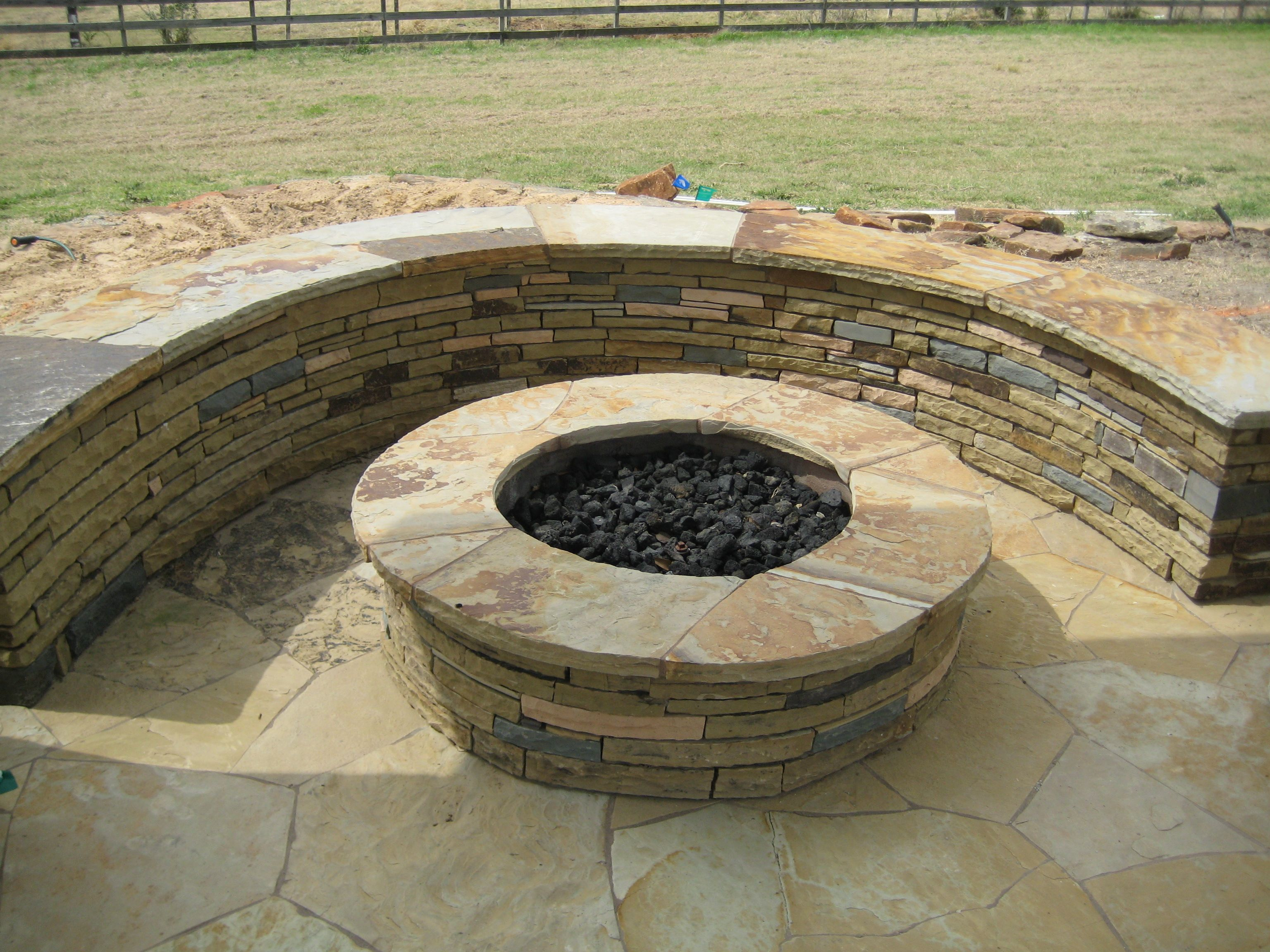 rock flagstone patio ideas | patio, paving, patio design ... - Rock Patio Ideas