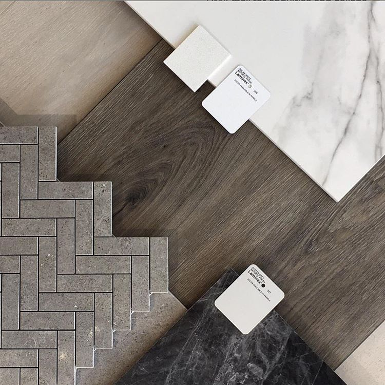Humpday Flatlay With Our Hybrid Dusk Flooring Pietra Lavica