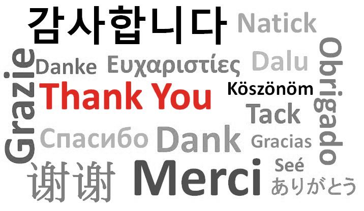 Thank You With Many Languages Image#Allquotes #ThankYou! #Gratitude - best of sample invitation letter kosovo