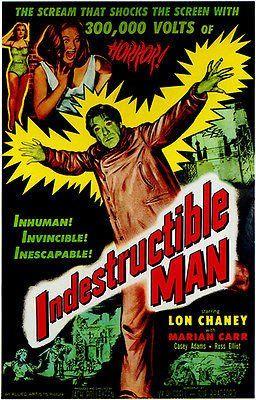 Indestructible Man - 1956 - Movie Poster