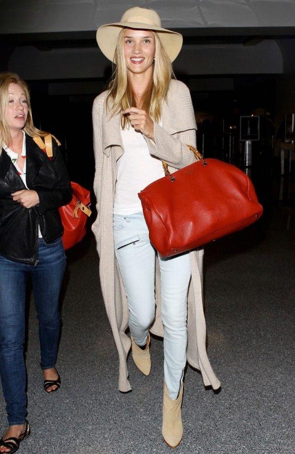 34996e7e Rosie Huntington Whiteley in Pierre Balmain Zip Skinny Jeans | Denim ...