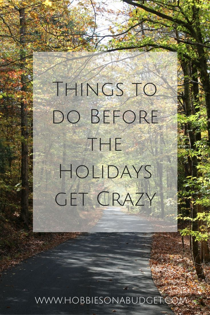 Things to do Before the Holidays get Crazy (With images)   Holiday, Days till christmas ...