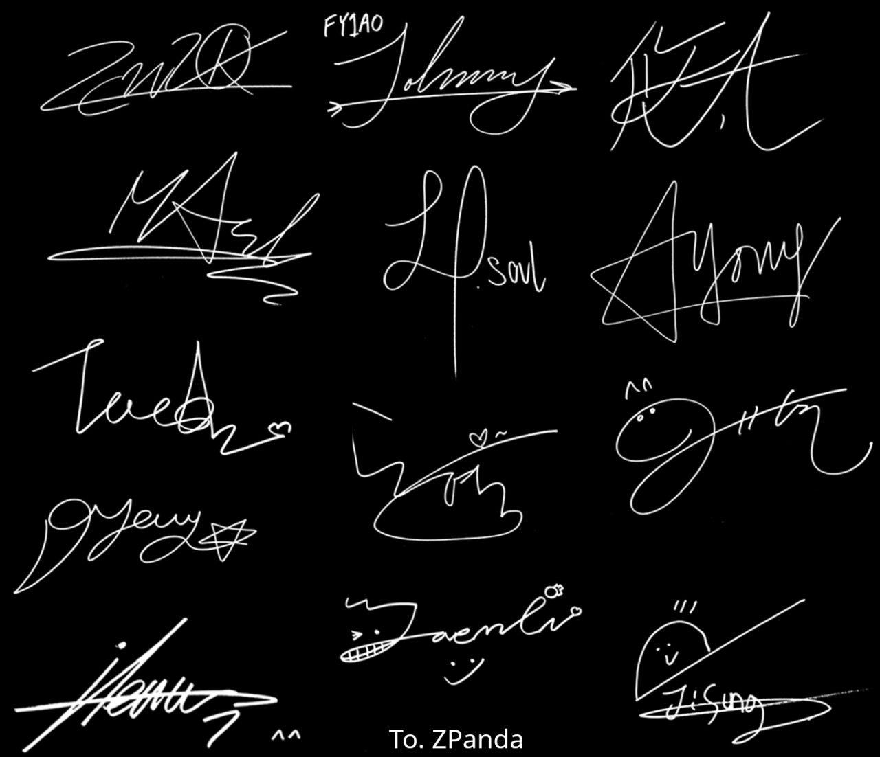 Nct S Autographs