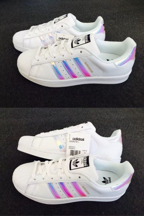 personalidad bruscamente Estación  Athletic 95672: Adidas Superstar Women S Iridescent Casual Up Sneakers Size  8 -> BUY IT NOW ONLY: $45 on eBay!   Adidas superstar women, Sneakers, Boot  shoes women