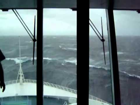 Huge Wave Hits Cruise Ship Rough Seas WTH Pinterest Huge - Cruise ship hits rough seas