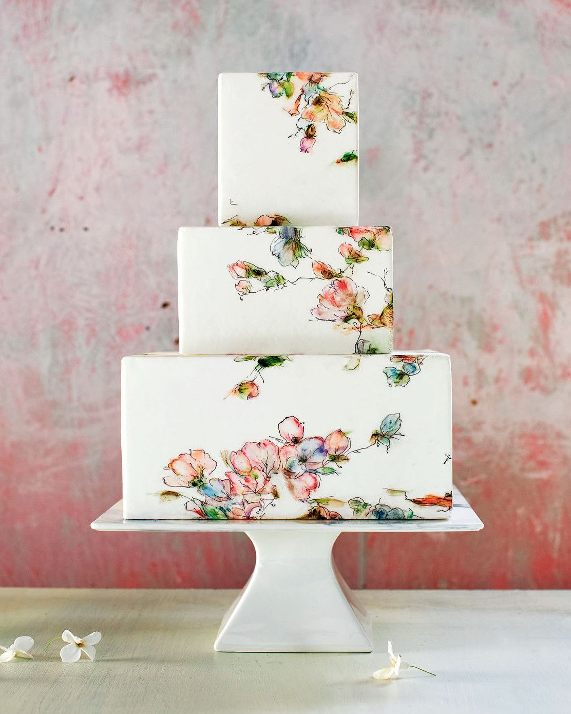 Fun Wedding Cake Ideas: Gorgeous Floral Wedding Cakes By Maggie Austin