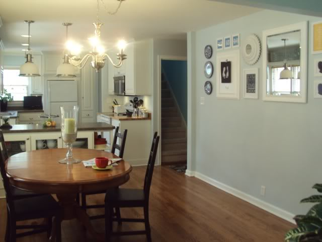 Living Room Dining Room Kitchen Tour Living Room Update Home