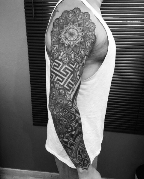 7b9e4e1da 60+ Amazing Sleeve Tattoos for Men & Women | Tattoos | Sleeve ...