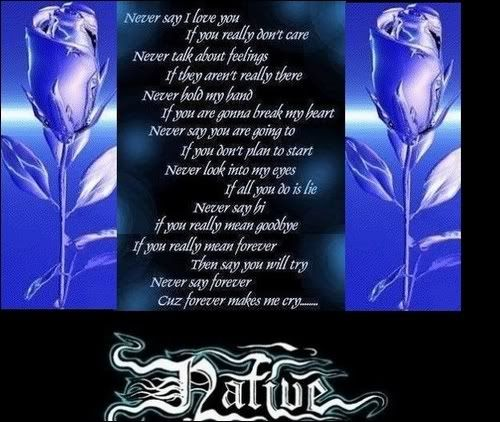 Native Love: Native Love Poem Http://www.myspace