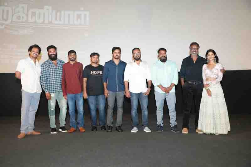 Arun Pandian,Keerthi Speech @ Anbirkiniyal Movie Press Meet