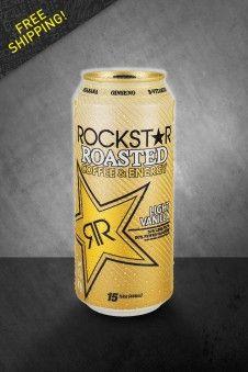 Rockstar Roasted Light Vanilla Yummy Stuff Pinterest