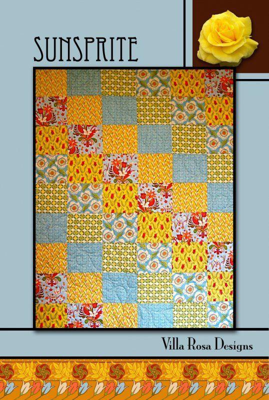 Fat Quarter Friendly Saratoga Pattern Card by Villa Rosa Designs