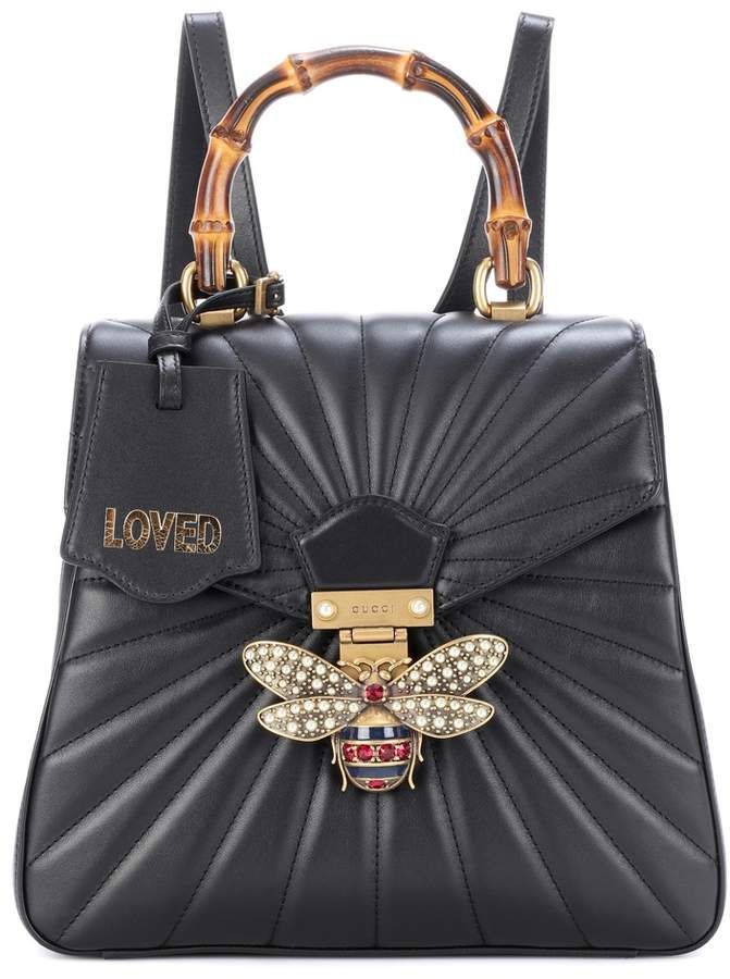 62c641488 Gucci Queen Margaret leather backpack | Products | Leather backpack ...