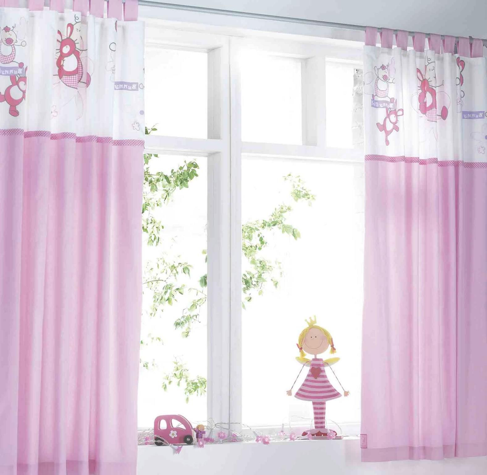 kids room. bee motive kids room curtains for girl with white and